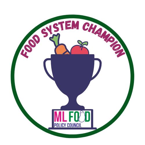 food systems champions program logo